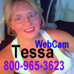 phonesex and webcam with Cougar Tessa  800-965-3623